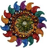 Mama Handicraft Plastic Diya - 10 cm x 10 cm x 4 cm
