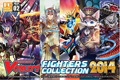 2014 Fighter'S Collection English Booster Box - Cardfight Vanguard Card Game - 10 Packs / 3 Cards Rrr+