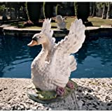 Grace Beauty Swan Bird Sculpture Statue Figurine