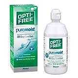 Opti-Free Puremoist Multi-Purpose Disinfecting Solution with Lens Case, 10-Ounces