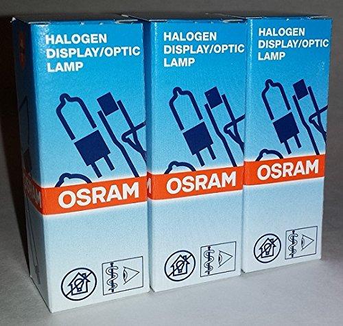 3 Pack: Osram Sylvania FHE / ESB 64250 HLX 6V 20W G4 Bipin Halogen Light Bulb