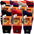 Women's Brushed Heat Trapping Thermal Warmer Insulated Winter Boot Socks