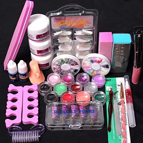 lhwy-pro-24-in-1-acrylic-nail-art-tips-liquid-buffer-glitter-deco-tools-full-kit-set