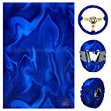 ZHENXI Water Transfer Hydrographic Film - Hydro Dipping Hydro Dip Film for Decor - Great for Use on Automotive Parts, Rims, Cups (Tamaño: Large)
