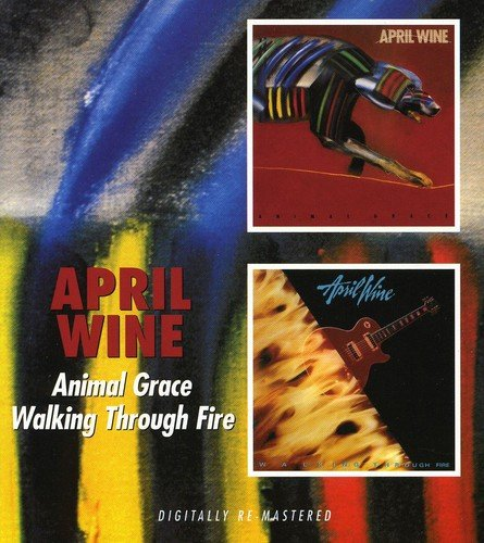 CD : April Wine - Animal Grace / Walking Through Fire (United Kingdom - Import, 2 Disc)