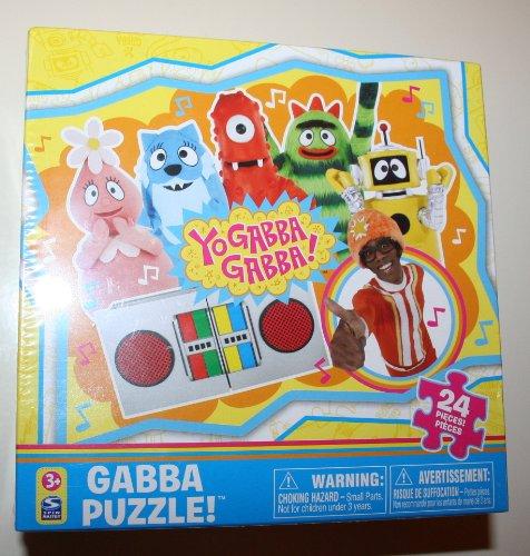 Cheap Spin Master Yo Gabba Gabba Gang Boombox 24 piece jigsaw puzzle (B003777B46)