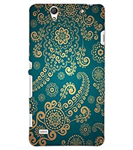 SONY XPERIA C4 FLOWERS Back Cover by PRINTSWAG