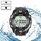 Simptech Sports Watch Bluetooth Waterproof - LED Digital Watches ,Fitness Running Bracelet , Multi-Function Pedometer ,Calorie Counter, Health Smart Sync Watches for iphone IOS and Android Phone