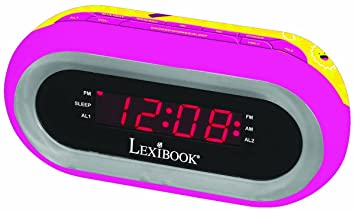 Lexibook RL140SL- Radio réveil avec lumière Soy Luna