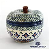 [Zaklady Ceramiczne Boleslawiec/ザクワディ ボレスワヴィエツ陶器]リンゴのポット12.5cm-du60 ポーリッシュポタリー