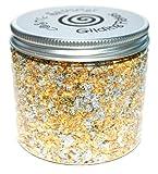 Cosmic Shimmer Gilding Flakes 200ml Pot - Sunlight Speckle