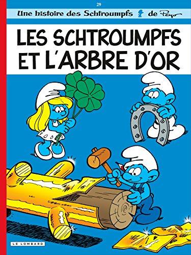 les-schtroumpfs-lombard-tome-29-les-schtroumpfs-et-larbre-dor
