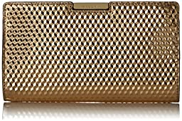 MILLY Geo SM Frame Clutch, Gold, One Size