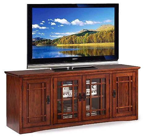 TV Stand in Oak Finish