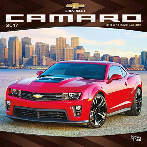 Camaro 2017 Wall Calendar (Camaro Generations compare prices)