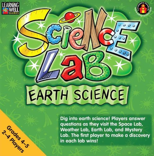 Edupress Game Learning Well Science Lab Earth Science, Grades 4-5 front-558634