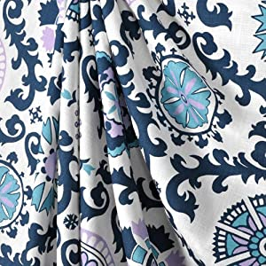 navy blue wisteria lavender teal and white flower