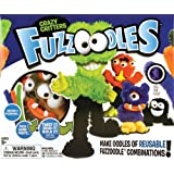 Ideal Fuzzoodles Crazy Critters Plush