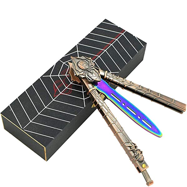Loviza Practice Butterfly Knife Balisong Trainer Stainless