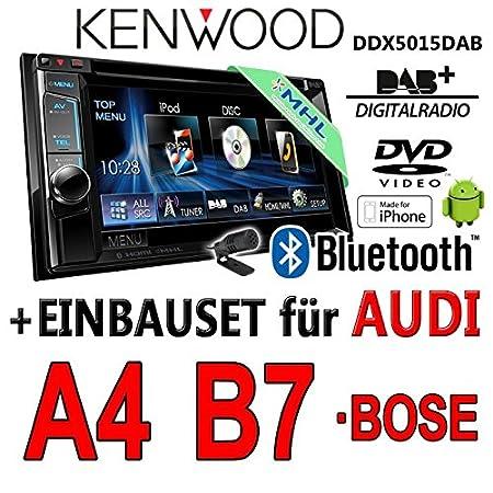 Audi a4 b7 kenwood-dDX5015DAB 2DIN multimédia uSB mHL avec dAB