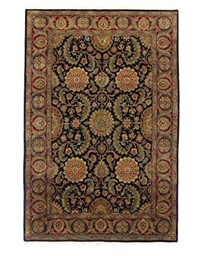 Bashian Rugs Hand Knotted Agra, Black, 6'' x 8' 10