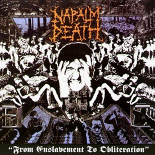 From Enslavement to Obliteration Original recording remastered, Import Edition by Napalm Death (2012) Audio CD