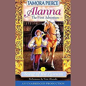 Alanna, The First Adventure Audiobook