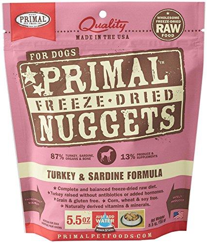 Primal Pet Foods Freeze-Dried Canine Turkey Formula 5.5 oz (Freeze Dried Pet Food compare prices)