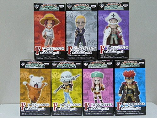 Ichiban Kuji [ONE PIECE -Enter the New World- Special Edition] Prize-F: World Collectable Figure (set of 7)