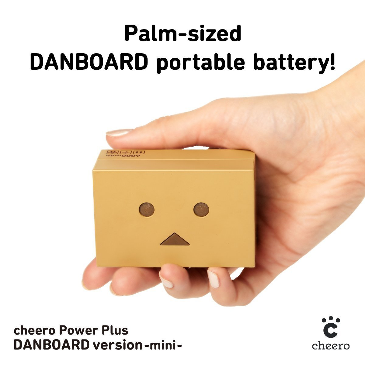 Внешний аккумулятор cheero Power Plus DANBOARD -mini- 6000mAh