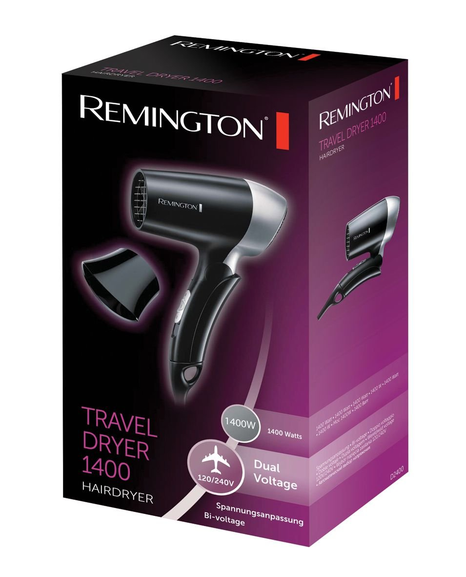 Remington D2400 Hair Dryer Travel Dryer 1400 - prices and ratings ... 5b8fbbddfb43