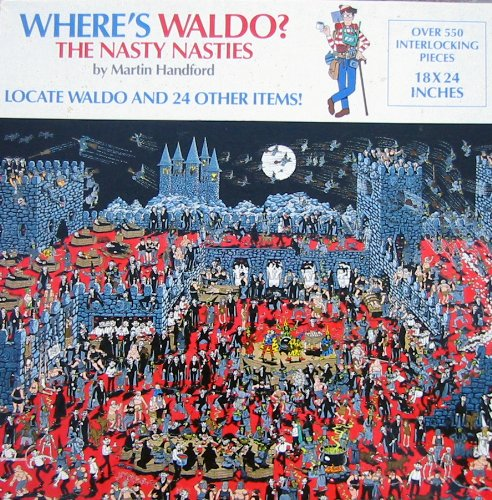 Cheap Great American Where's Waldo? The Nasty Nasties Jigsaw Puzzle (B002V61KAK)