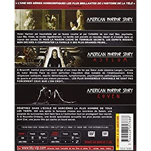 American Horror Story - L'intégrale des Saisons 1 à 3 [Blu-ray]
