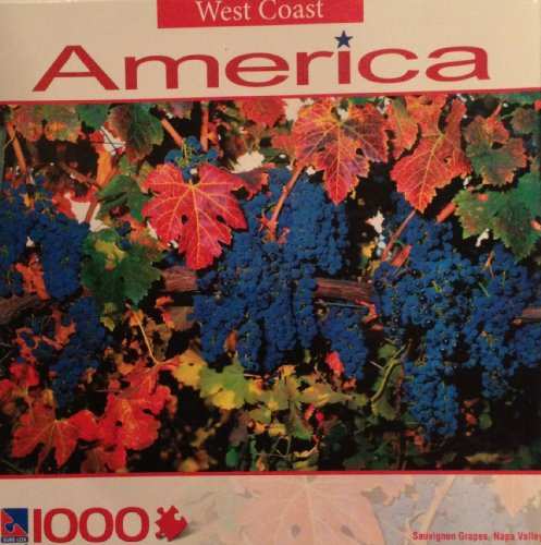 West Coast America Sauvignon Grapes , Napa Valley 1000 Puzzle