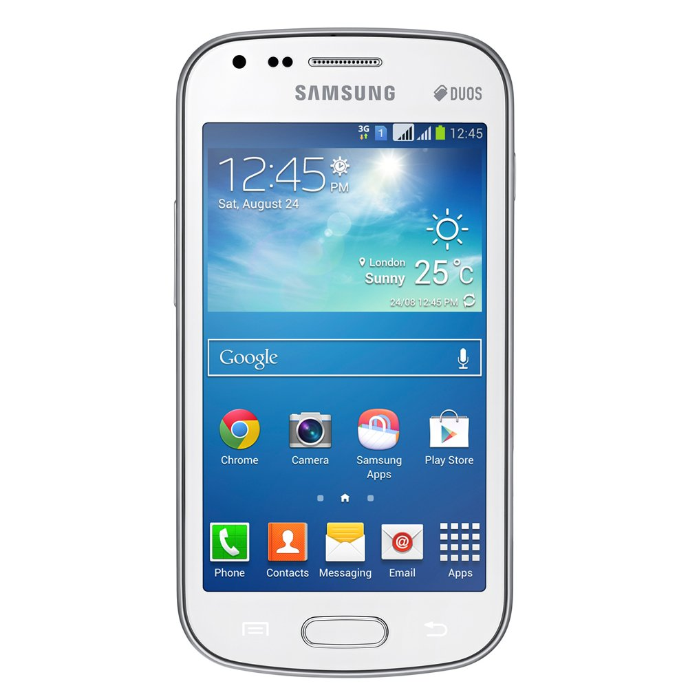 Leasing Samsung Galaxy S Duos 2 Unlocked Smartphone  4 GB, White