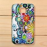 【全10色】Samsung Galaxy S2 / SC-02C / i9100 専用ケース プラスチックケース 花柄 Plastic Case for Galaxy S2 SC-02C (1380-13)