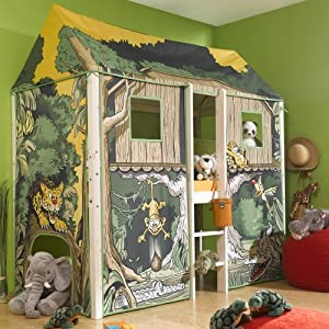 thuka flexa 4 dreams hochbett kinderbett spielbett. Black Bedroom Furniture Sets. Home Design Ideas
