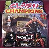 Clash Of the Champions Sting VS. Hollywood Hulk Hogan 2 Pack Action Figure Set
