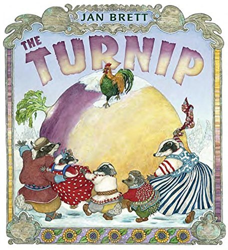 The Turnip by Jan Brett (2015-11-03)