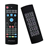 MX3 Pro Backlight 2.4G Mini Wireless Keyboard Air Remote Mouse 3D Fly Remote Controller Built-in 3-Gyro 3-Gsensor with Nano USB Receiver Perfect for Android TV Box HTPC IPTV Mini PC Smart Projector (Color: MX3 Backlight, Tamaño: MX3-L)