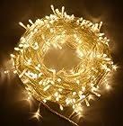 CVLIFE 31V Safe 260 Leds 50M Warm White String Fairy Lights Lighting 8 Modes for Christmas Tree Party Wedding Garden
