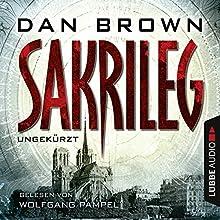 Sakrileg Hörbuch von Dan Brown Gesprochen von: Wolfgang Pampel