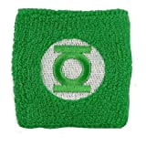 Green Lantern Embroidered Terry Wristband
