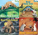 Karma Wilson Bear Board Book 4-Pack: Bear's New Friend; Bear Feels Sick; Bear Feels Scared; Bear Snores on (Classic Board Books)