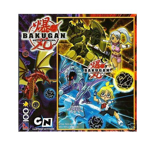 Bakugan Julie and Marucho 100 Piece Puzzle by Other Properties - 1