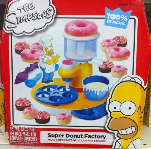 ... 99 - CraZArt The Simpsons Super Donut Factory (884920182509) $30.00