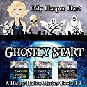 Ghostly Start: Harper Harlow, Books 1-3 Audiobook by Lily Harper Hart Narrated by Angel Clark