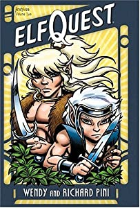 Elfquest: Archives, Volume 2 (Elfquest Graphic Novels (DC Comics)) by Wendy Pini and Richard Pini