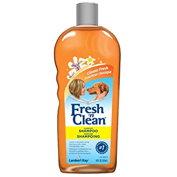 clean scented dog shampoo
