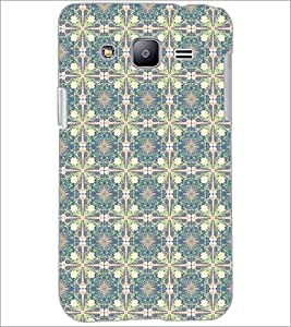 PrintDhaba Pattern D-5326 Back Case Cover for SAMSUNG GALAXY J2 (Multi-Coloured)